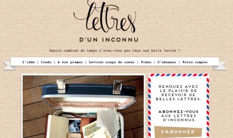 www.lettresduninconnu.fr