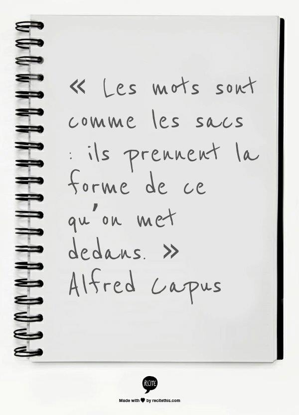 Alfred Capus citation mots