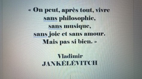 citation philosophie Jankélévitch