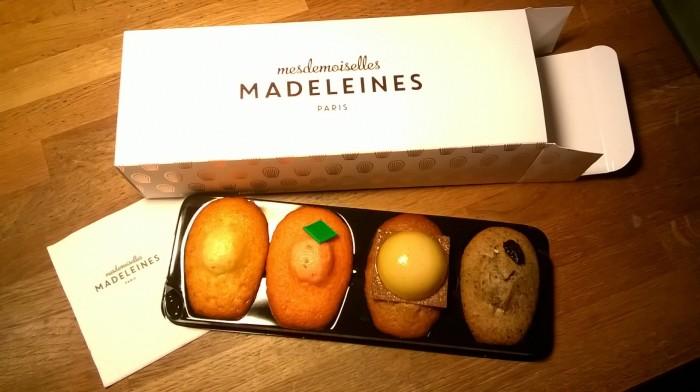 Mesdemoiselles Madeleines, Marcel Proust, Madeleine