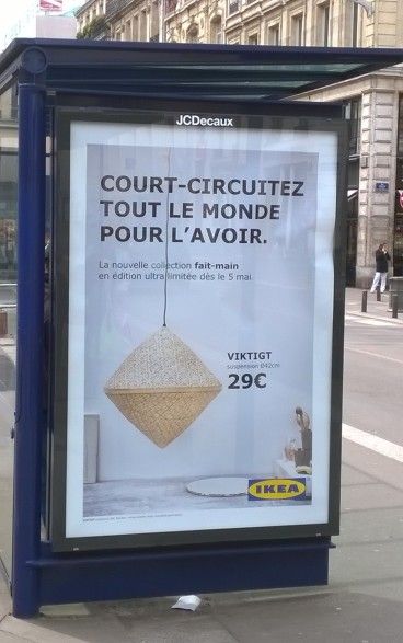 IKEA mai 2016 Court-circuitez tout le monde pour l'avoir