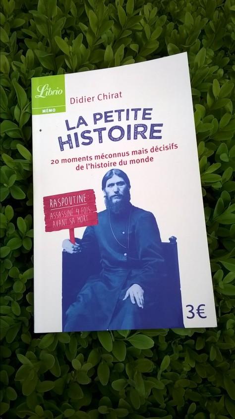 La Petite Histoire Didier Chirat Librio