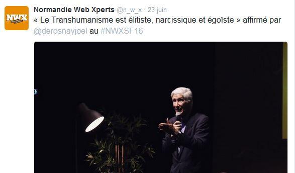 Joël de Rosnay NWXSF16