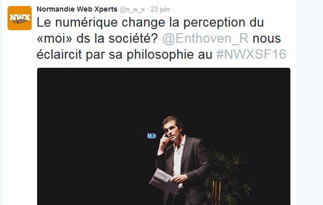 Raphaël Enthoven NWXSF16