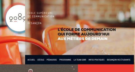 2089 Ecole supérieure de communication digitale Besançon