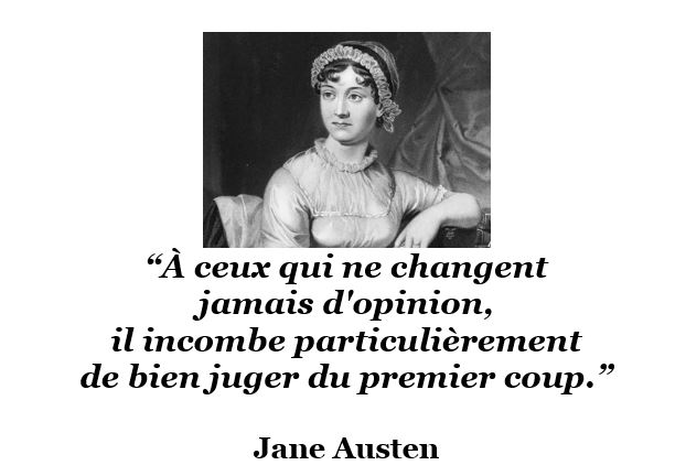 citation Jane Austen opinion juger
