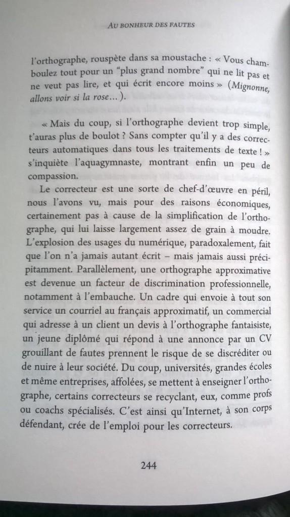 Muriel Gilbert Au bonheur des fautes orthographe Vuibert