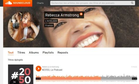 #2050LePodcast Rebecca Armstrong podcast