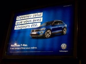 Volkswagen T-Roc affiche 2 Il est temps d'être vous-même