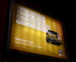 Volkswagen T-Roc affiche 3 Il est temps d'être vous-même