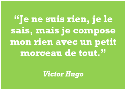 citation, Victor Hugo, rien, tout, ego