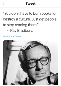 citation livres Ray Bradbury