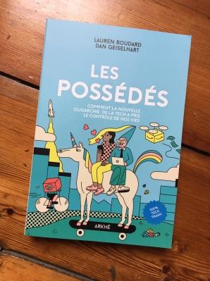 Les Possédés - Arkhé Editions Livre Tech Trash